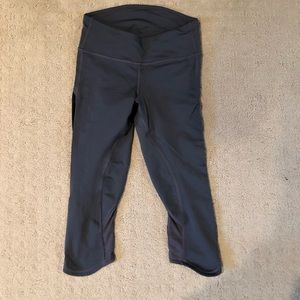 Lulu lemon grey yoga pants (size 2,)